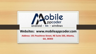 Top Leading Mobile App Development Company in USA and India
