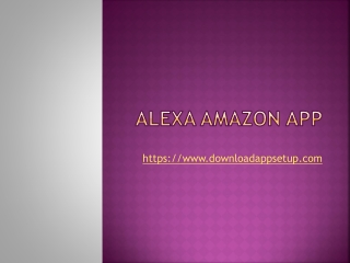 Download Alexa App|Alexa App