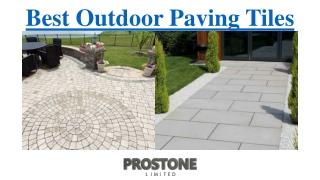 Best Outdoor Paving Tiles