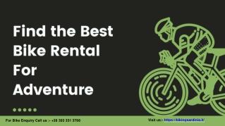 Find the Best Mountain Biking Rental Services in Sardinia