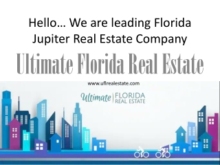 Homes for sale in Jupiter FL - Buying, Selling or Renting a Property