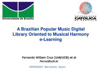 A Brazilian Popular Music Digital Library Oriented to Musical Harmony e-Learning