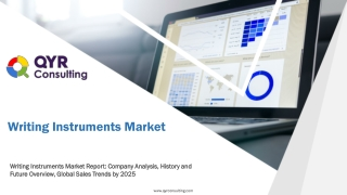 Writing Instruments Market Report: Company Analysis, History and Future Overview, Global Sales Trends by 2025