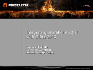 Integrating SharePoint 2010 with Office 2010