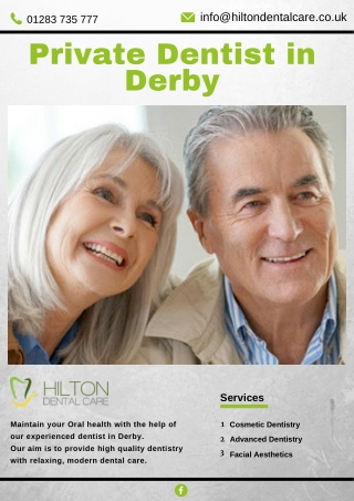 Private Dentist in Derby