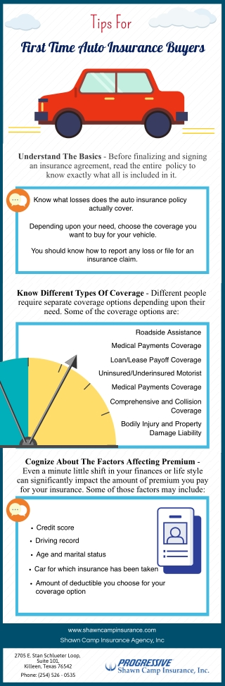 Tips For First Time Auto Insurance Buyers