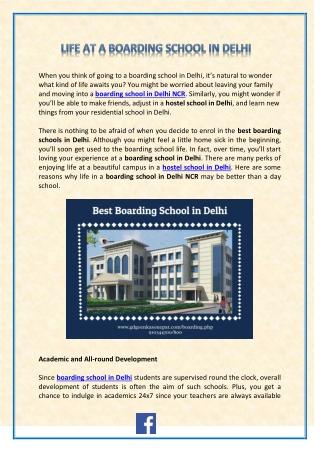 Best Boarding schools in Haryana