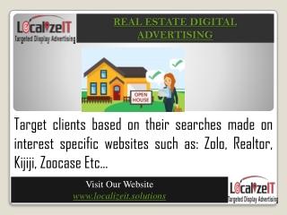Real Estate Digital Advertising