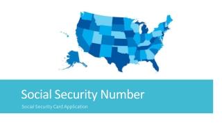 Fetch Social Security Number Details – Make Online Card Application