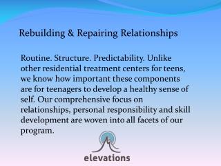 Rebuilding & Repairing Relationships Elevations RTC