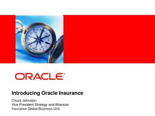 Introducing Oracle Insurance