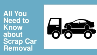 All You Need to Know about Scrap Car Removal