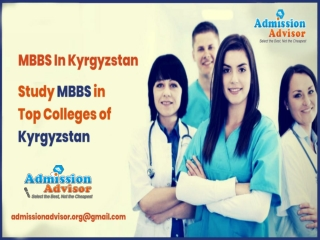 MBBS in Kyrgyzstan at affordable price
