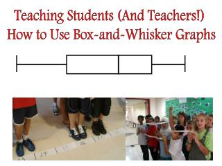 Teaching Students And Teachers  How to Use Box-and-Whisker Graphs