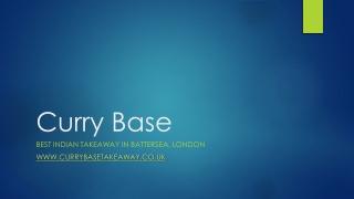 Indian Takeaway | Battersea, London