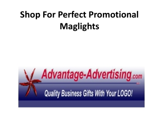 Shop For Perfect Promotional Maglights