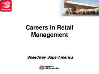 Careers in Retail Management