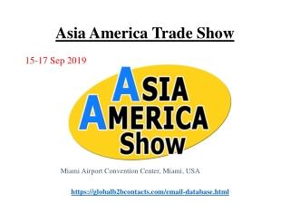 Asia America Trade Show