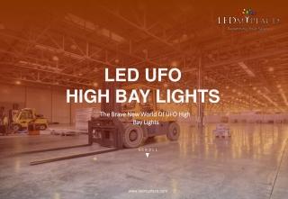 UFO LED High Bay Lights – LEDMyplace