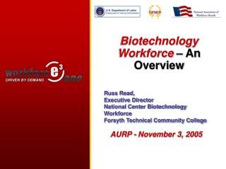 Biotechnology  Workforce  – An Overview