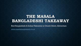 Bangladeshi Takeaway | Church Street, Altrincham