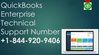 Quickbooks Enterprise Technical Support Number