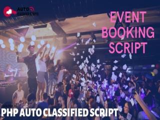 Event booking script | Open Source Event Booking Script