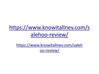 Salehoo directory