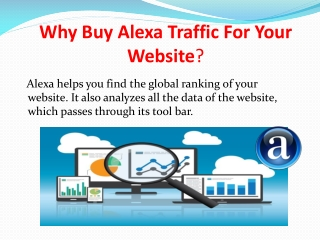 Why Buy Alexa Traffic For Your Website?