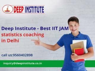 Best coaching for IIT JAM statistics | IIT JAM Coaching
