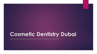 Cosmetic Dentistry Dubai