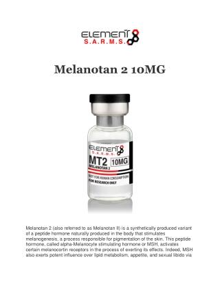 Buy Melanotan 10mg