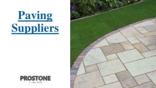 Paving Suppliers
