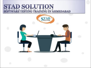 Software Testing Training in Ahmedabad |Web Application Testing Services - STAD Solution