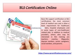 BLS Recertification Online