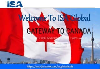 ISA Global Immigration Services Canada