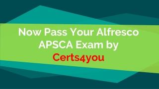 APSCA Test Dumps