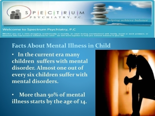 Reasons to consult with child psychiatrists