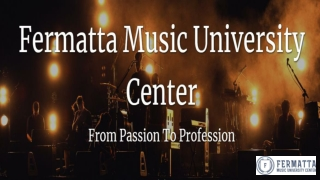 Fermatta Music University Center