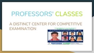 professors classes