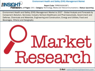 Environment Health and Safety (EHS) Management Market