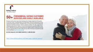 Customer care SilverSingles