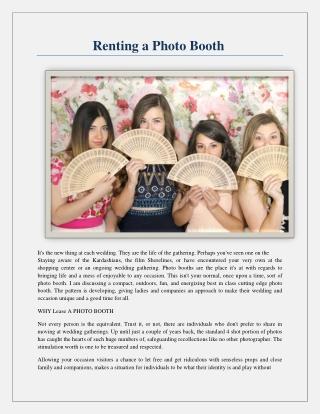 Wedding Photo Booth Rental - 1,302 vol
