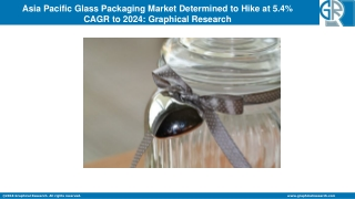 Asia Pacific Glass Packaging Market: Advanced Technologies & Growth Opportunities Worldwide By 2024