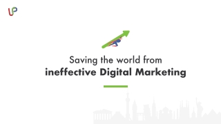 Saving the world from ineffective SEO services
