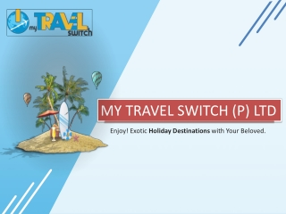 Book India And International Holiday Packages