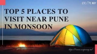 Top Weekend Destinations & Hangout Places Near Pune | Escape Way