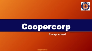 Top Automobile Parts Manufacturing Company in India | Cooper Corp
