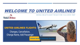 Call at United Airlines Customer Service Phone Number for Help