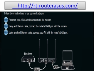 router.asus.com doesn't work